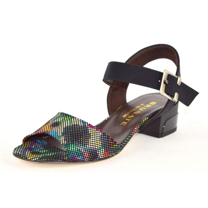Brunate Scarpa Multicolore Fondo cuoio