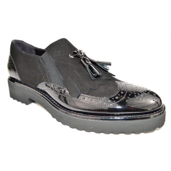 Altariva Pantofola Wilson Nero Fondo gomma