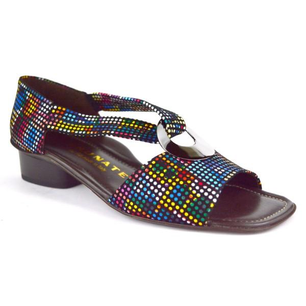 Brunate Sandali Anello Multicolore Multicolore Fondo cuoio