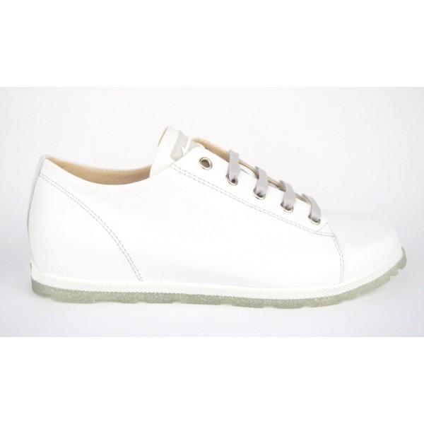 Dover Sneakers Bianco Fondo gomma