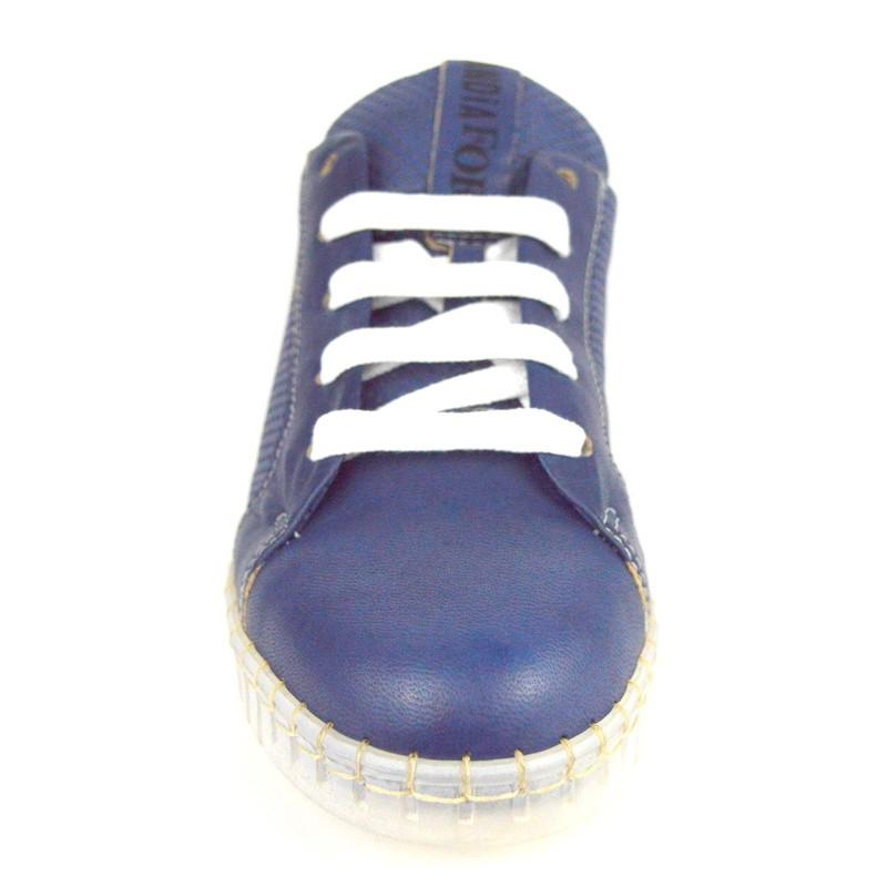 Andia fora Sneakers Traforata Blu Fondo gomma