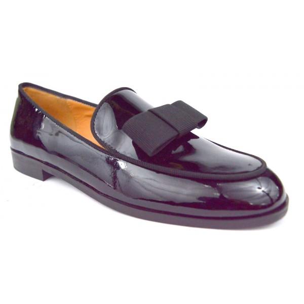 Altariva Pantofola Fiocco Nero Mezza gomma
