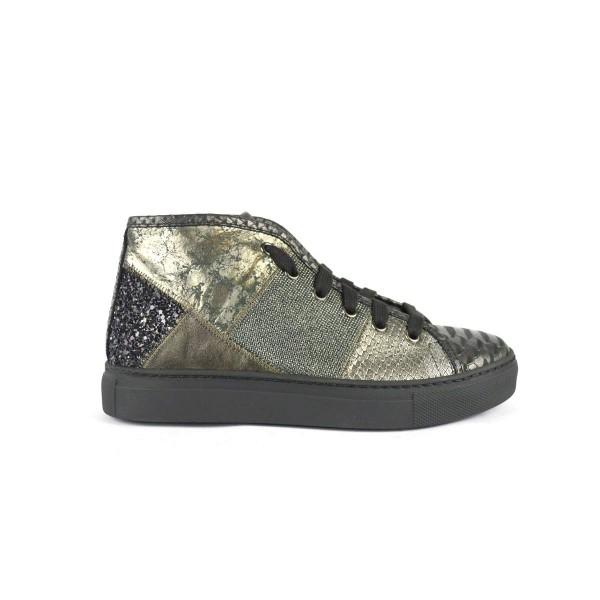 Stokton Sneakers Nero Fondo gomma
