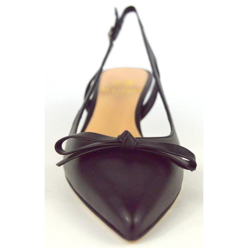 Altariva Chanel Fiocco Nero Fondo cuoio