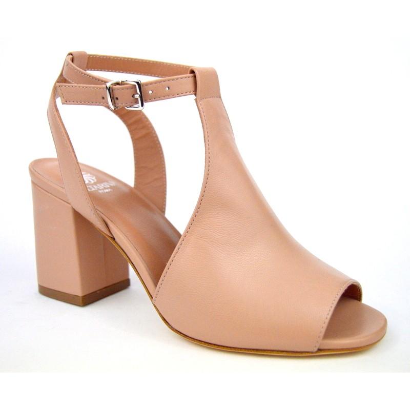 Altariva Sandalo Posteriore Tallone Cipria C1
