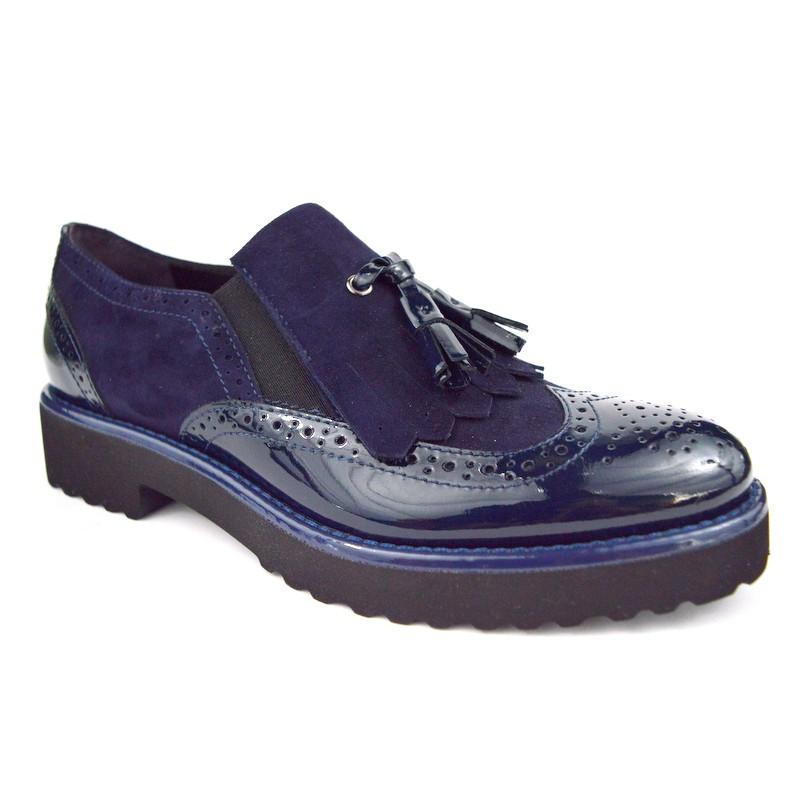 Altariva Pantofola Wilson Blu Fondo gomma