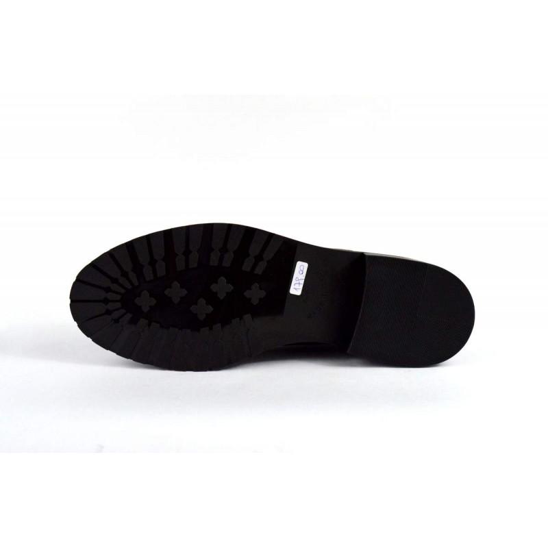 Laura bellariva Pantofola Puntale Nero Fondo gomma