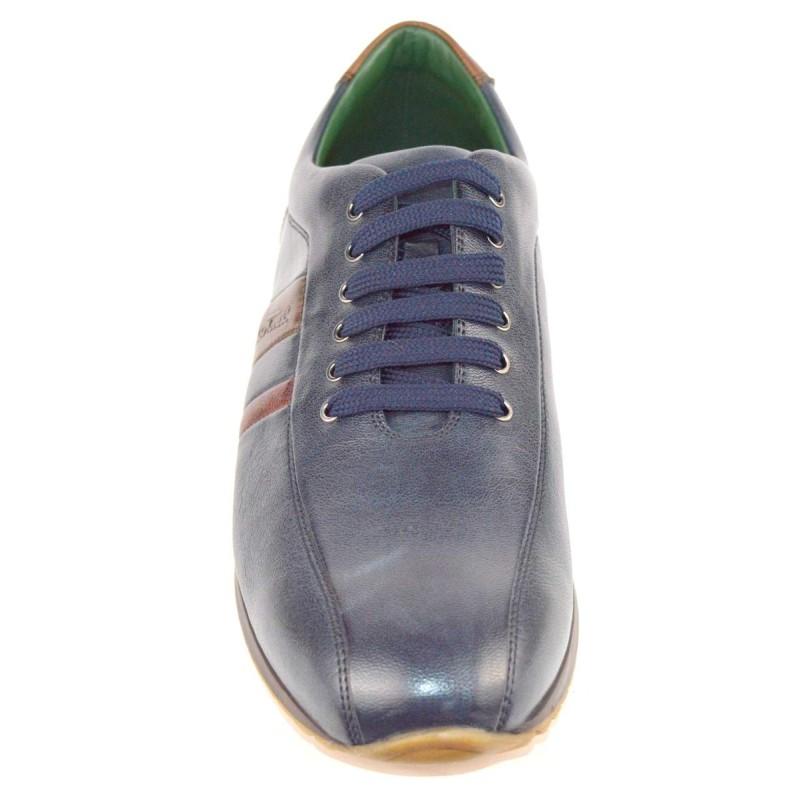 Galizio torresi Sneakers 3 righe Blu Fondo gomma