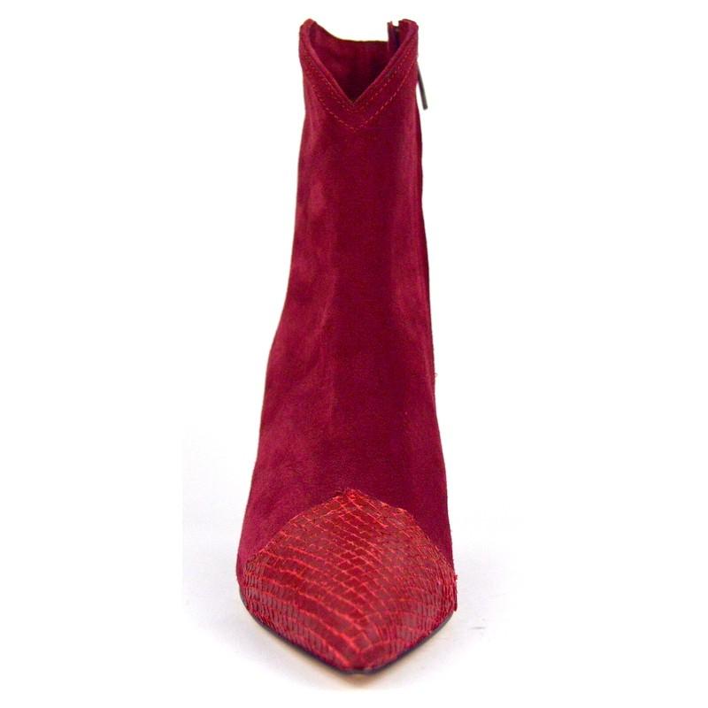 Altariva Polacchino Puntale Rosso Fondo cuoio e gomma