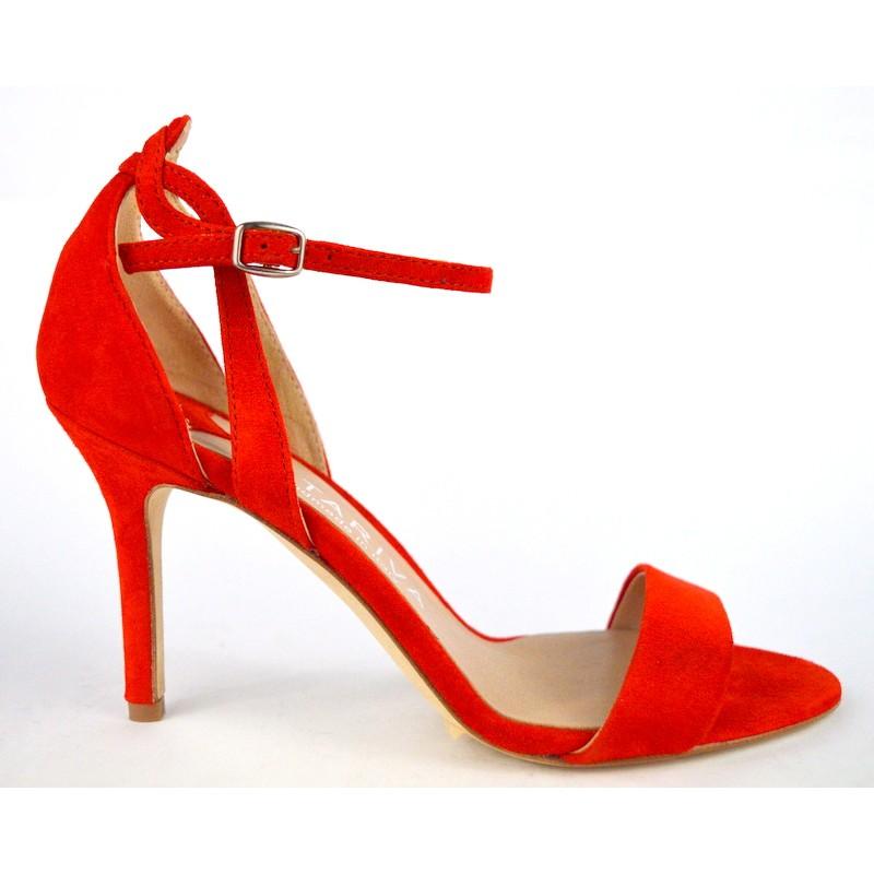 Altariva Sandali Rosso Fondo cuoio
